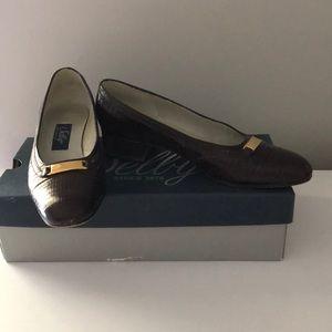 Selly Comfort Flex brown heels
